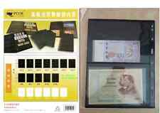 PCCB 4 Pocket Currency Banknote Pages Storage 1pack(10pcs)