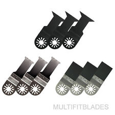 9pc Oscillating Tool Bi-Metal Blade Kit - Makita Multi Tool Compatible