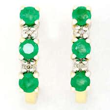 Handmade Natural Emerald Fine Earrings
