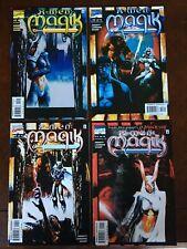 X-Men Magik  #1-4 MARVEL Comic Book Complete Limited Series Set 2001 NM