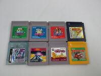 Lot of 8 games Pokemon Nintendo SET Game Boy Japan Ver GB