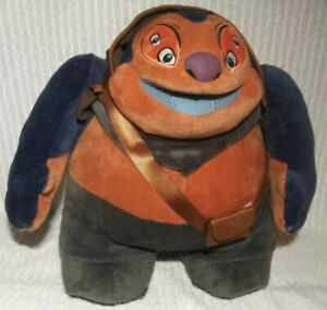 "Lilo & Stitch JUMBA Plush 13"" Disney Store Experiment Evil Genius Alien Stuffed"