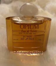 Opium YSL Vintage Perfume EDT Mini Eau de Toilette .26 oz Glass old formula