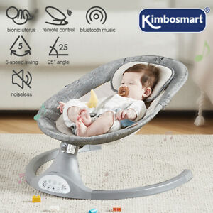 Electric Baby Bouncer Swing Chair Rocking Soft Soothing Bouncy Seat Cradle UK