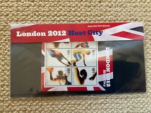 2005 London 2012 Host City Presentation Pack M11 Royal Mail Mint Stamps