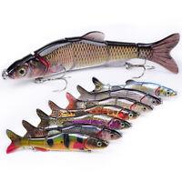 1PC D5 Multicolor 16.5cm Fishing Bait Lure Fish Bait Lures Life-like 2# Hook CHZ