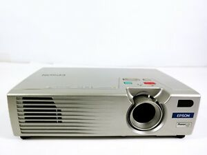 Epson PowerLite 730C 3LCD Projector Portable HD HDMI adapter w/Acceptable