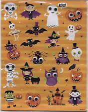 Google Eyes Halloween Haunted House Mummy Bats more Stickers