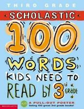 100 Words Kids Need to Read by 3rd Grade (100 Words Math Workbook)