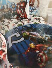 Marvel Avengers Assemble Twin Microfiber Comforter NIP