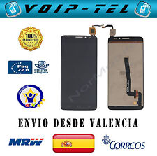 PANTALLA COMPLETA LCD DISPLAY CON TACTIL ALCATEL IDOL X  PLUS OT6043 6043D NEGRO