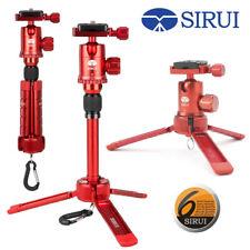 Sirui Table Top Mini Tripod Ball Head Kit Aluminum/Magnesium Red 3T-35R