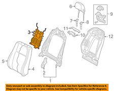 AUDI OEM 2016 TT Quattro Front Seat-Lumbar Adjustment Adjuster 4M0881879B