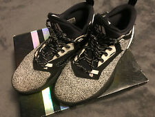 Adidas D Lillard 2 J Boys Black Basketball Shoes B54186 Size 6.5