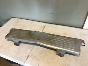 1960 60 Chevy Impala Belair Biscayne Front Bumper License Plate Filler Panel OEM