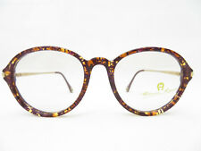 VINTAGE Aigner Brille Brillengestell DAMEN Designer PANTO 52□19 140 NEU Oversize