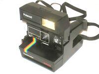 Vintage Polaroid Supercolor 635CL Instant Film Camera