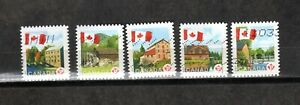 """2010 UC#2351/5 SET (5),USED,FLAG OVER MILLS """"P"""" PERMANENT DEFINS.DOMESTIC VALUE"""
