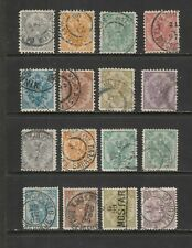 Bosnia - 1895 Stamp Sets  Used Perf 10.5/12.5   (3225)