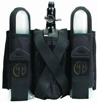 Tippmann SP Sport Series 2 +1 Paintball Harness Pod Pack w Tank Pouch - Black
