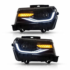 LED Front Projector Headlights For  Chevrolet Chevy Camaro 2014 2015