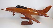 Wooden Wood Usaf United States Air Force F-100A Super Sabre Desk Top Model