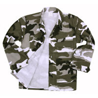Veste treillis enfant 6ans US BDU ripstop camouflage urbain urban camo cam
