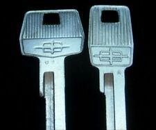 LINCOLN Continental OEM NOS Logo KEY BLANK SET fit 1961 1962 1963 1761LP 1761LS