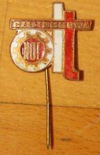 Poland Czestochova Town NOT Heavy Enameled Badge Pinback