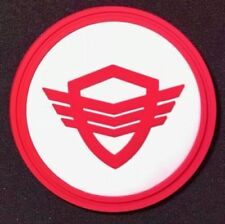 The Orville TV Red SECURITY Logo Screen Accurate Chest Insignia PVC Badge Pin