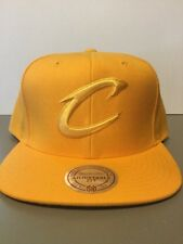 Cleveland Cavaliers NBA HYPER COLORS GOLD SnapBack Hat. Brand New. One Size Fits