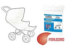 Mosquito Net White For Stroller And Pram Size Universal Art.15575
