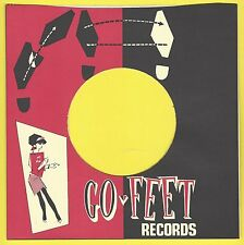 GO-FEET REPRODUCTION RECORD COMPANY SLEEVES - (pack of 10)