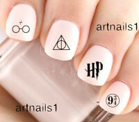 Harry Potter Nail Art Water Decals Stickers Manicure Salon Mani Polish HP Gift