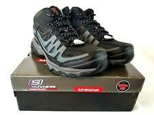 Skechers Mens Holdredge Rebem Steel Toe Work Boots EH Black Charcoal US 14 Z031