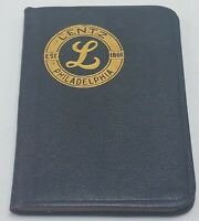 Vtg 1938 Chas A Lentz Philadelphia PA Surgical Equipment Miniature Notebook