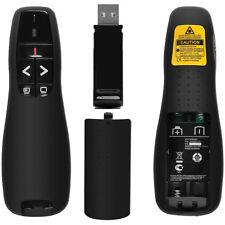 Wireless Remote Control Clicker PPT PowerPoint Presenter USB Laser Pointer Pen