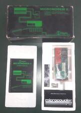 Vintage Hayes Micromodem II Modem Card for Apple II, Apple II Plus, Apple IIe