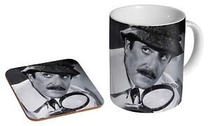 Peter Sellers Cleaseau Pink Panther - Coffee / Tea Mug And Coaster Gift Set