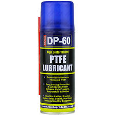 2 x 200ml High Performance PTFE Spray Lubricant Cycle Oil Corrosion Protection
