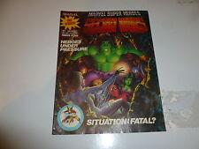 SECRET WARS Comic - No 7 - Date 20/07/1985 - Marvel comic