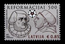500.Jahrestag d. Reformation. Martin Luther & Andreas Knöpken.1W. Lettland 2017