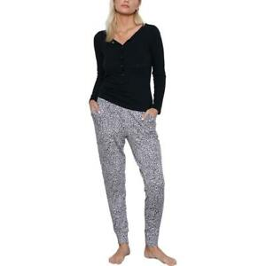 Tart Collections Zuri Women's Printed French Terry Loungewear Jogger Pants