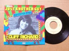 CLIFF RICHARD,JUST ANOTHER GUY/THE MINUTE YOU´RE GONE single m-/m- emi rec. ´80