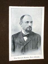 Ministro Giovanni Raineri nel 1920 Borgo San Donnino 17.9.1858 – Roma 29.11.1944