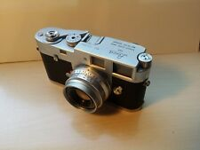 Leica M2 With 35 Millimeter Lens and light meter