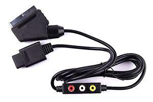 Hellfire Trading RGB AV HD TV SCART CABLE LEAD FOR SUPER NINTENDO SNES NEW