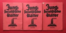 3 alte Zeitschriften Jung Sozialistische Blätter März April Mai 1926  ( F18150
