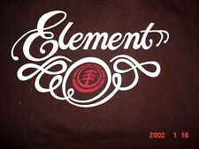 Mens T SHIRT skate board dc shoes Element bam-M-Med