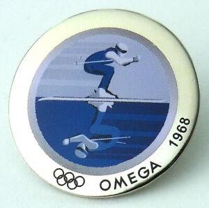 OMEGA PIN - Anstecker - 2006 Torino - Olympische Spiele 1968 Rarität